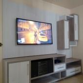 Rack em MDF com painel pra TV