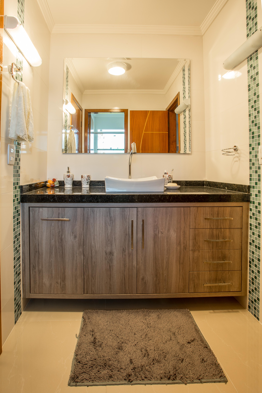 Balcão de Banheiro com cuba de sobrepôr #AE5300 3840x5760 Balcão Para Banheiro Bosi