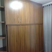 Armário com cama retrátil