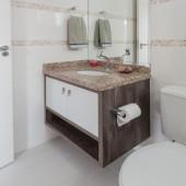 Armário de Banheiro em MDF com nicho