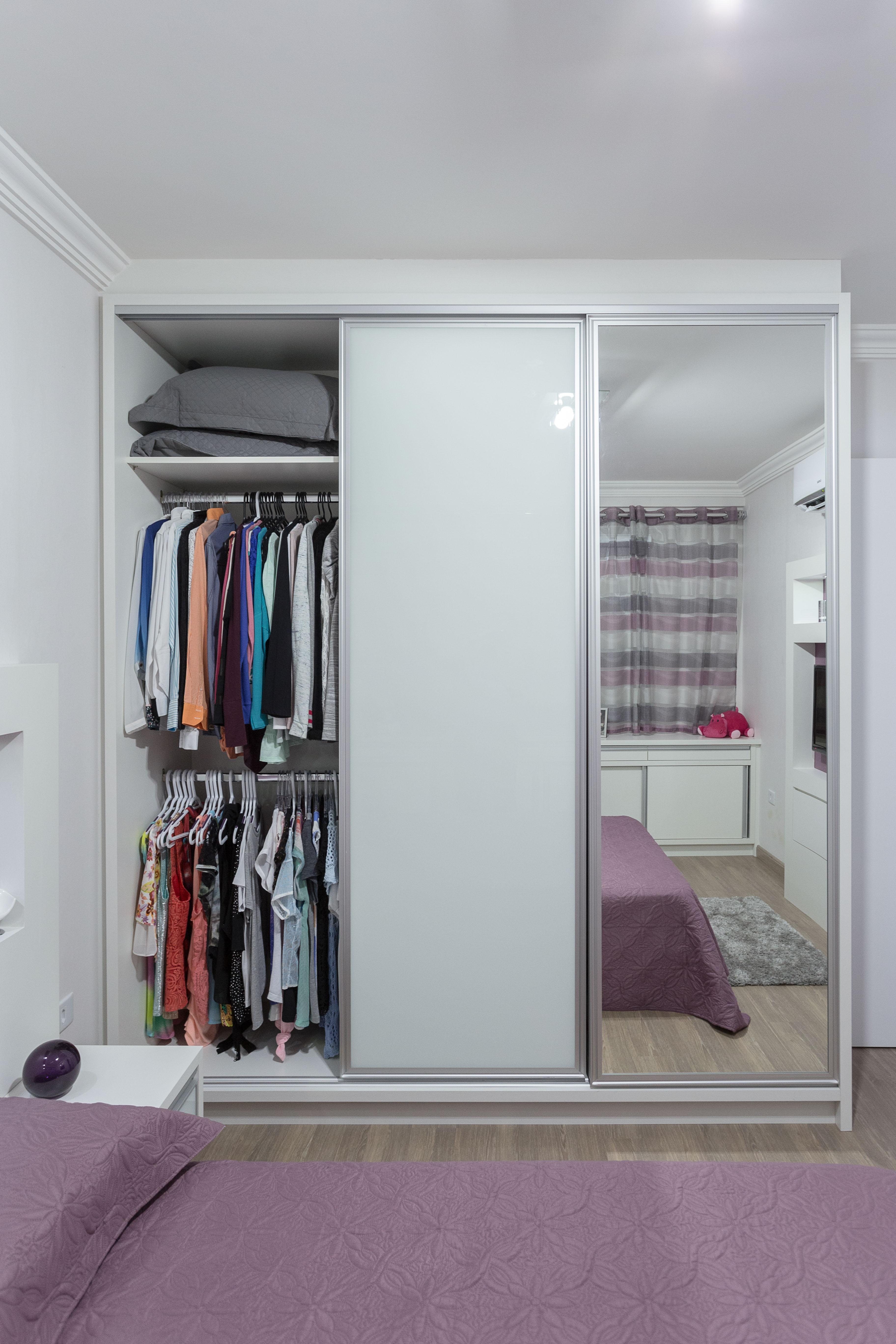 Quartos Elabore M Veis ~ Quarto De Casal Pequeno Com Closet