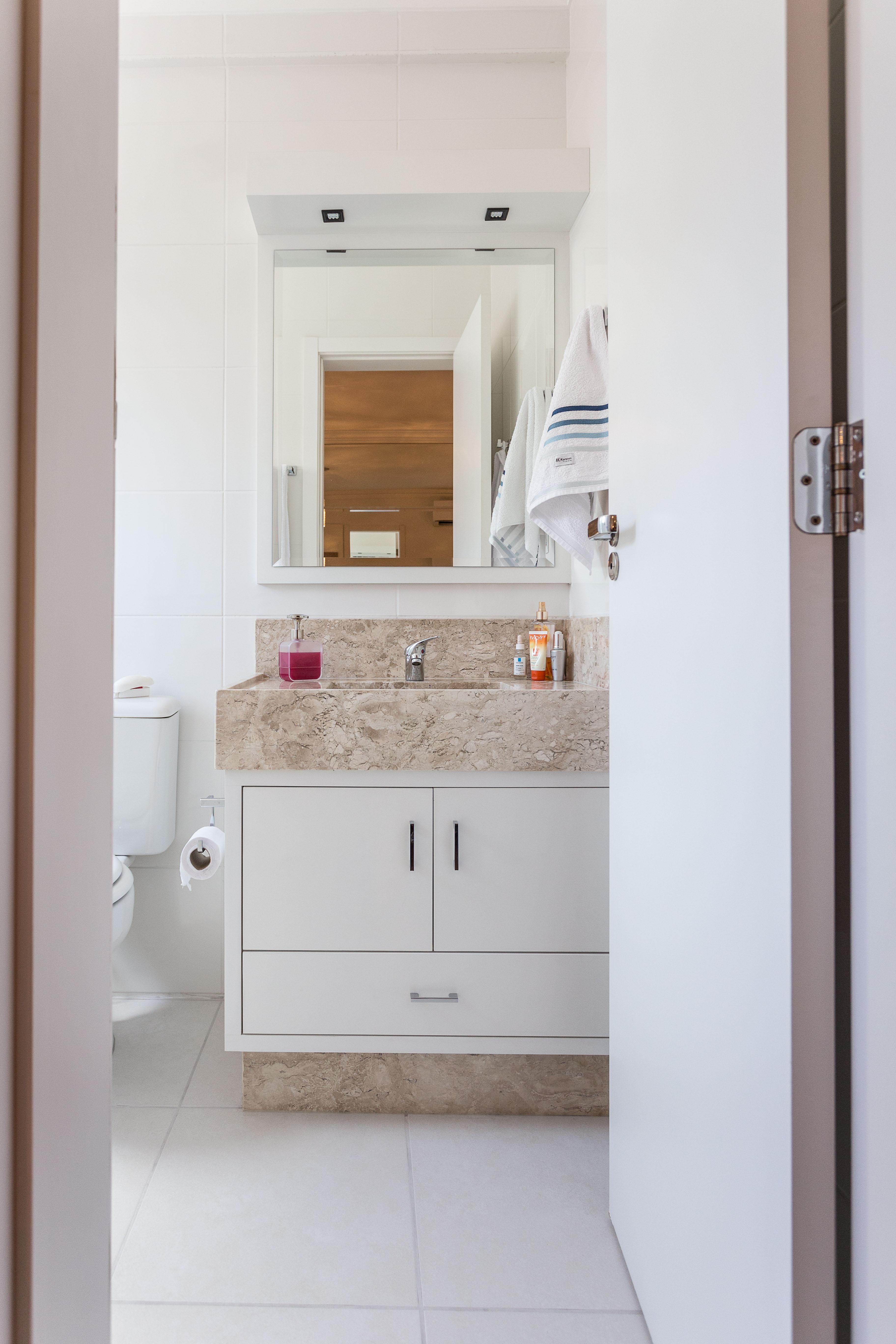 Banheiro Com Armario Embutido  rinkratmagcom banheiros decorados 2017 -> Armario De Banheiro Embutido