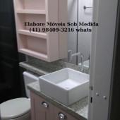 Banheiro moderno sob medida completo